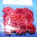 Flitter-40 (3 g) - hologramos piros (virág), Gyöngy, ékszerkellék, Flitter, strassz, Mindenmás, Flitter-12 - hologramos piros - virág  Mérete: 12 mm A furat mérete: 1 mm  Kiszerelés: 3 g (kb. 100..., Alkotók boltja