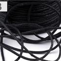 Viaszos pamutzsinór - 1,5-2 mm (ZS05. minta/3 m) - fekete, Fonal, cérna, Kötés, horgolás, Ékszerkészítés, Viaszos pamutzsinór (ZS05. minta) - fekete  Nyakbavaló alap, karkötő alap alapanyaga. Fonáshoz, de ..., Alkotók boltja