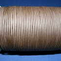 Hasított bőrszíj - 2 mm (19. minta/1 m) -  sötétbarna, , Bőrművesség, Ékszerkészítés, Hasított bőrszíj (19. minta) - tekercses - sötétbarna  Mérete: 2 mm átmérőjű Valódi hasított marhab..., Alkotók boltja