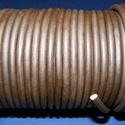 Hasított bőrszíj - 5 mm (9. minta/1 m) - sötétbarna, Hasított bőrszíj - 5 mm (9. minta/1 m) - sötétbarna Valódi hasított marhabőrből készült. Az ár 1 mét..., Alkotók boltja