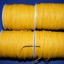 Hasított bőrszíj - 1,5 mm (19. minta/1 m) - antik sárga (AKCIÓS), , Bőrművesség, Ékszerkészítés, Hasított bőrszíj - 1,5 mm (19. minta/1 m) - antik sárga (AKCIÓS) Mérete: 1,5 mm  Valódi hasított ma..., Alkotók boltja