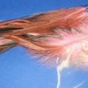 Dekorációs toll-36 (10 db) - rózsaszín-barna, Dekorációs toll-36 - rózsaszín-barna  A tollak mérete: 13-15 cm A csomag tartalma 10 db madártoll. A..., Alkotók boltja
