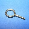 Szemes csavar arany  25mm (K-75minta/1 db) , Gyöngy, ékszerkellék, Gyurma, Ékszerkészítés, Gyurma, Szerelékek, Szemes csavar arany színben (K-75minta)  Mérete,hossza kb.25 mm A fej átmérő kb. 12mm Belső méret: ..., Alkotók boltja