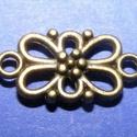 Medál összekötő/köztes (512. minta/1 db) - virág, Gyöngy, ékszerkellék, , Alkotók boltja