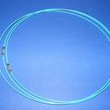 Sodrony nyaklánc alap (15. minta/1 db) - világoskék, Gyöngy, ékszerkellék,  Sodrony nyaklánc alap (15. minta) - világoskékSodrony (tigrisbajusz) nyaklánc alap, szerelt, pr..., Alkotók boltja