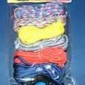 Paracord karkötő alap-10 (6 szín+6 kapocs), Gyöngy, ékszerkellék,  Paracord karkötő alap-10  A csomag tartalma: 6 db paracord színes zsinór (a képen látható  ..., Alkotók boltja