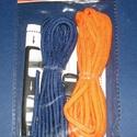 Paracord karkötő alap-6 (2 szín+2 kapocs), Gyöngy, ékszerkellék,  Paracord karkötő alap-6  A csomag tartalma: 2 db paracord színes zsinór (a képen látható  s..., Alkotók boltja