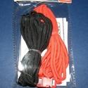 Paracord karkötő alap-2 (2 szín+2 kapocs), Gyöngy, ékszerkellék,  Paracord karkötő alap-2  A csomag tartalma: 2 db paracord színes zsinór (a képen látható  s..., Alkotók boltja