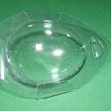 Tojástartó (1 db) - kacsa, Csomagolóanyag, Mindenmás,  Tojástartó - kacsa   Műanyag, víztiszta tojástartó, kacsatojás méretben  Mérete: 12,7x8,2 cm (a to..., Alkotók boltja
