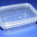 Műanyag szögletes doboz (1 db) - 250 ml, Csomagolóanyag, Mindenmás,  Műanyag szögletes tárolódoboz   Praktikus többfunkciós áttetsző műanyag doboz.Biztonságos tárolást..., Alkotók boltja