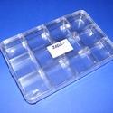 Tárolódoboz (12 rekeszes) - tetővel, Csomagolóanyag, Mindenmás,  Tárolódoboz - 12 rekeszes - tetővel  Praktikus, többfunkciós, áttetsző műanyag doboz.Biztonságos t..., Alkotók boltja