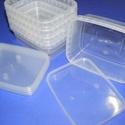 Tárolódoboz (5 db), Csomagolóanyag, Mindenmás,  Tárolódoboz  Praktikus, többfunkciós, áttetsző műanyag doboz.Biztonságos tárolást  biztosít az el..., Alkotók boltja