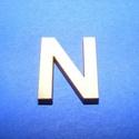 Fa betű (20x15 mm) - N, Fa, Famegmunkálás, Egyéb fa,  Fa betű - N    Mérete: 20x15 mmAnyaga: natúr rétegelt lemezAnyagvastagság: 3 mm Az ár egy darab ..., Alkotók boltja