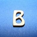 Rusztikus fa betű (20x15 mm) - B, Fa, Famegmunkálás, Egyéb fa,  Rusztikus fa betű - B    Mérete: 20x15 mmAnyaga: rétegelt lemezAnyagvastagság: 3 mm Az ár egy te..., Alkotók boltja