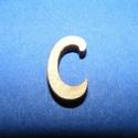 Rusztikus fa betű (20x15 mm) - C, Fa, Famegmunkálás, Egyéb fa,  Rusztikus fa betű - C    Mérete: 20x15 mmAnyaga: rétegelt lemezAnyagvastagság: 3 mm Az ár egy te..., Alkotók boltja