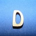 Rusztikus fa betű (20x15 mm) - D, Fa, Famegmunkálás, Egyéb fa,  Rusztikus fa betű - D    Mérete: 20x15 mmAnyaga: rétegelt lemezAnyagvastagság: 3 mm Az ár egy te..., Alkotók boltja