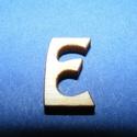 Rusztikus fa betű (20x15 mm) - E, Fa, Famegmunkálás, Egyéb fa,  Rusztikus fa betű - E    Mérete: 20x15 mmAnyaga: rétegelt lemezAnyagvastagság: 3 mm Az ár egy te..., Alkotók boltja