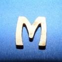 Rusztikus fa betű (20x15 mm) - M, Fa, Famegmunkálás, Egyéb fa,  Rusztikus fa betű - M    Mérete: 20x15 mmAnyaga: rétegelt lemezAnyagvastagság: 3 mm Az ár egy te..., Alkotók boltja