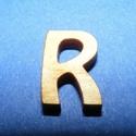 Rusztikus fa betű (20x15 mm) - R, Fa, Famegmunkálás, Egyéb fa,  Rusztikus fa betű - R    Mérete: 20x15 mmAnyaga: rétegelt lemezAnyagvastagság: 3 mm Az ár egy te..., Alkotók boltja