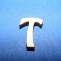 Rusztikus fa betű (20x15 mm) - T, Fa, Famegmunkálás, Egyéb fa,  Rusztikus fa betű - T    Mérete: 20x15 mmAnyaga: rétegelt lemezAnyagvastagság: 3 mm Az ár egy te..., Alkotók boltja