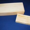 Fadoboz (25x11,7x5,9 cm/1 db) - fenyő, Fa, Famegmunkálás, Egyéb fa,  Fadoboz   Mérete: 25x11,7x5,9 cmAnyaga: natúr fenyő, nem pácolt, nem festett  Az ár egy darab term..., Alkotók boltja
