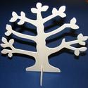 Ékszertartó fa (1 db), Fa, Famegmunkálás, Egyéb fa,    Ékszertartó fa Mérete: 25x26 cm Anyaga: natúr fa, nem pácolt, nem kezeltAnyagvastagság: 3,2 mm  ..., Alkotók boltja