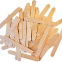 Fa spatula (15x1,8 cm/10 db), Fa, Famegmunkálás, Egyéb fa,  Fa spatula    Mérete: 15x1,8 cmVastagsága: 1,5 mmAnyaga: natúr fa  Az ár 10 darab termékre vonat..., Alkotók boltja