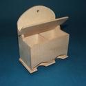 Fa teafiltertartó (1 db) - fedeles, Fa,  Fa teafiltertartó - fedeles - 2 oszlopos - akasztható    Mérete: 15,5x8,5x19,5 cm  Az ár 1 db..., Alkotók boltja