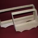 Fapolc (nagy/1 db), Fa,  Fapolc - nagy  Mérete: 37x8x14 cm Anyaga: rétegelt lemez  Az ár egy darab termékre vonatkozik. ..., Alkotók boltja