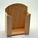 Papírzsebkendő tartó (kicsi/1 db) - álló, Fa,  Papírzsebkendő tartó - kicsi - álló  Mérete: 12,5x6,5x17 cmAnyaga: natúr fa  Az ár egy dara..., Alkotók boltja