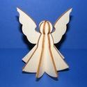 3D fa angyalka (4 részes), Fa,  3D fa angyalka - 4 részes    Az összeállítás a képeken látható sorrendben történik.  ..., Alkotók boltja