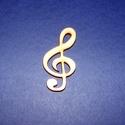 Fa alap (214. minta/1 db) - nagy violinkulcs, Fa, Famegmunkálás, Egyéb fa,  Fa alap (214. minta) - nagy violinkulcs    Mérete: 5x2,5 cmAnyaga: natúr rétegelt lemezAnyagvast..., Alkotók boltja