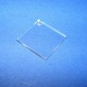 Akril medál alap-13/B (24x24 mm/1 db) - négyzet - fúrt, Díszíthető tárgyak, Műanyag, Mindenmás,  Akril medál alap-13/B - négyzet - fúrtMérete: 24x24x2 mm  Az anyag víztiszta (mindkét oldala védőf..., Alkotók boltja