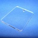 Akril medál alap-8/A (45x35 mm/1 db) - téglalap - fúrt - álló, Díszíthető tárgyak, Műanyag, Mindenmás,  Akril medál alap-8/A - téglalap - álló - fúrt  Mérete: 45x35x2 mm  Az anyag víztiszta (mindkét old..., Alkotók boltja