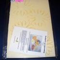 Hungarocell festhető egységcsomag (11. minta/1 db) - margarétás poháralátét, Díszíthető tárgyak, Hungarocell, Mindenmás,    Hungarocell festhető egységcsomag (11. minta) - margarétás poháralátét    A csomagban 2 darab sá..., Alkotók boltja