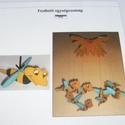 Hungarocell festhető egységcsomag (8. minta/1 db) - méhecske széljáték, Díszíthető tárgyak, Hungarocell,    Hungarocell festhető egységcsomag (8. minta) - méhecske széljáték    A csomagban 2 darab fe..., Alkotók boltja