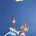 Hungarocell festhető egységcsomag (9. minta/1 db) - tengeri széljáték, Díszíthető tárgyak, Hungarocell,    Hungarocell festhető egységcsomag (9. minta) - tengeri széljáték    A csomagban 2 darab sár..., Alkotók boltja