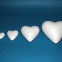 Hungarocell szív (11 cm), Díszíthető tárgyak, Hungarocell,  Hungarocell szív  Mérete: 11 cm    Többféle méretben.Az ár egy darab termékre vonatk..., Alkotók boltja