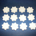 Hungarocell virág (2. minta/csomag) - csillagvirág, Díszíthető tárgyak, Hungarocell, Mindenmás,  Hungarocell virág (2. minta) - csillagvirág  Mérete: ? 4 cmVastagsága: 8 mm A csomag tartalma: 12 ..., Alkotók boltja