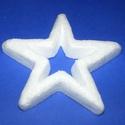 Hungarocell csillag keret (11 cm), Díszíthető tárgyak, Hungarocell, Mindenmás,  Hungarocell csillag keret  Mérete: 11 cm Többféle méretben és formában.Az ár egy darab termékre vo..., Alkotók boltja