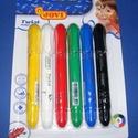 Jovi arcfesték toll (1 készlet) - 6 színű, Festék, Arcfesték, Festett tárgyak, festészet, Festékek,  Jovi arcfesték toll - 6 színű készlet (piros, sárga, zöld, kék, fekete, fehér)  Kiváló minőségű, k..., Alkotók boltja