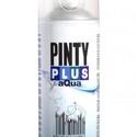 PINTY PLUS AQUA színtelen lakk (400 ml/1 db) , Lakk, Festett tárgyak, festészet, Festékek,  PINTY PLUS AQUA színtelen lakk (400 ml)   Új generációs vízbázisú spray, standard RAL színekben. S..., Alkotók boltja