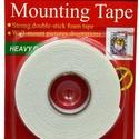 Kétoldalas ragasztószalag - Mounting Tape (1,8 cm/4,5 m), Ragasztó, Mindenmás,  Kétoldalas ragasztószalag - habosított  Mérete: 18 mm széles, 3 mm vastagEgy tekercs 4,5 m szalag ..., Alkotók boltja