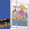 Üvegfesték (30 ml) - kék, Festék, Üvegfesték, Festett tárgyak, festészet, Festékek,  Üvegfesték (30 ml) - kék  Az áttetsző üvegfesték gyanta alapú, oldószere a terpentin. Gyúlékony, g..., Alkotók boltja