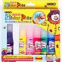 Leeho üvegmatrica-festék (6x20 ml) - 6 szín, Festék, Matricafesték, Festett tárgyak, festészet, Festékek,  Leeho üvegmatrica-festék - 5 szín + 1 kontúr + 16 db mintalap + 4 db fólia + 2 db műanyag csőr + 1..., Alkotók boltja