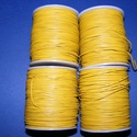 Hasított bőrszíj - 1,5 mm (19. minta/1 m) - antik sárga (AKCIÓS), Vegyes alapanyag, Egyéb alapanyag,  Hasított bőrszíj (19. minta) - antik sárga - AKCIÓS  Mérete: 1,5 mm átmérőjű  Valódi has..., Alkotók boltja
