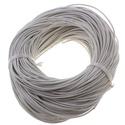 Hasított bőrszíj - 2 mm (1. minta/1 m) - fehér, Vegyes alapanyag, Egyéb alapanyag, Bőrművesség,  Hasított bőrszíj (1. minta) - tekercses - fehér  Mérete: 2 mm átmérőjű  Valódi hasított marhabőrbő..., Alkotók boltja