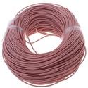 Hasított bőrszíj - 2 mm (2. minta/1 m) -  rózsaszín, Vegyes alapanyag, Egyéb alapanyag, Bőrművesség,  Hasított bőrszíj (2. minta) - tekercses - rózsaszín  Mérete: 2 mm átmérőjű  Valódi hasított marhab..., Alkotók boltja