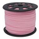 Szarvasbőr utánzat-6 (3x1,5 mm/1 m) - pink, Vegyes alapanyag, Egyéb alapanyag, Bőrművesség,  Szarvasbőr utánzat-6 - pink  Mérete: 3x1,5 mm  Nyakbavaló alapnak, fonási technikákhoz ajánlott. F..., Alkotók boltja