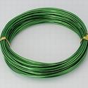 Alumínium drót-25 (1,5 mm/~ 6 m) - zöld, Gyöngy, ékszerkellék, Drót, Ékszerkészítés, Fűzőszál,  Alumínium drót-25 - zöldVastagsága: ? 1,5 mmHossza: 6 mAz ár 1 csomagra vonatkozik.  , Alkotók boltja